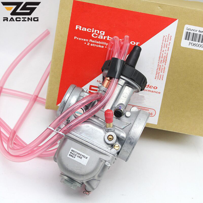 ZS Racing Motorcycle Universal PWK 33 34 35 36 38 40 42mm PWK AIR ATTAQUANT Pour KEIHI CARBURATEUR POUR TRX250R CR250