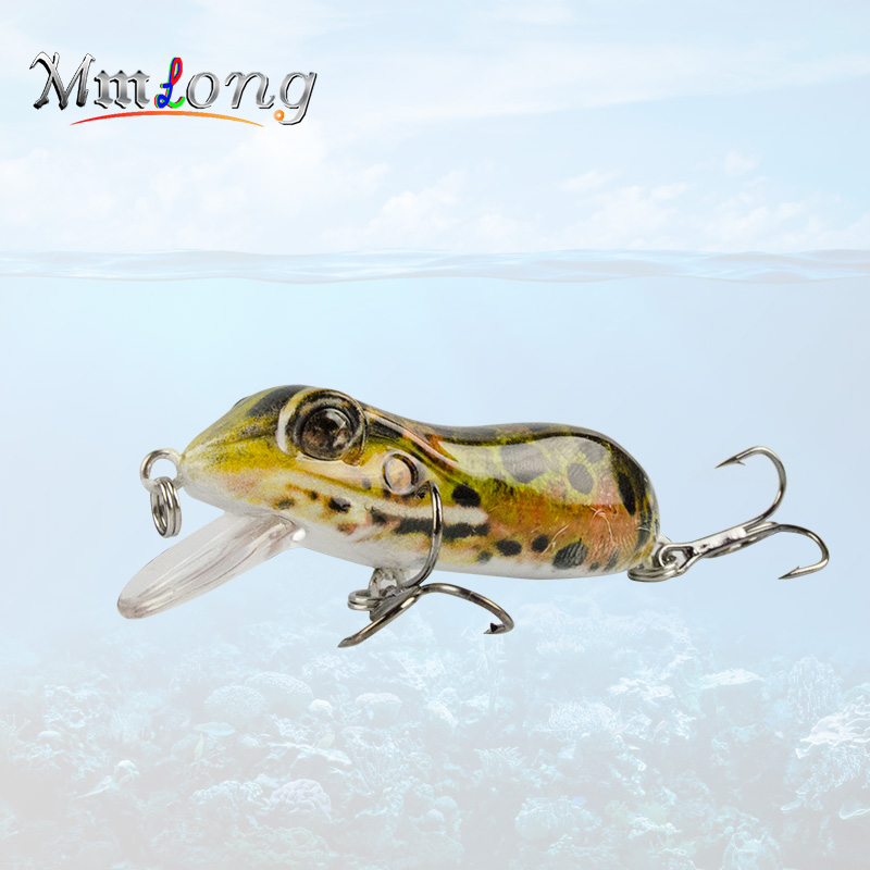 Mmlong 63mm Bionic Frog Fishing Lures MR03 Realistic Topwater Hard Fish Wobbler Artificial Fishing Crank bait lures Pesca рыболовный поплавок night fishing king 1012100014 mr 002