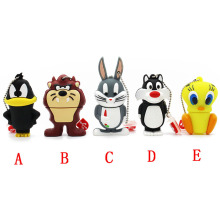 Bugs Bunny Crow Lion cat USB 2.0 Flash Drive