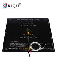 MK2A PCB heatbed 300*300*2mm with cable+Thermistor 100k 12V 24V RepRap RAMPS 1.4 PCB Hot Plate For Mendel 3d printer part
