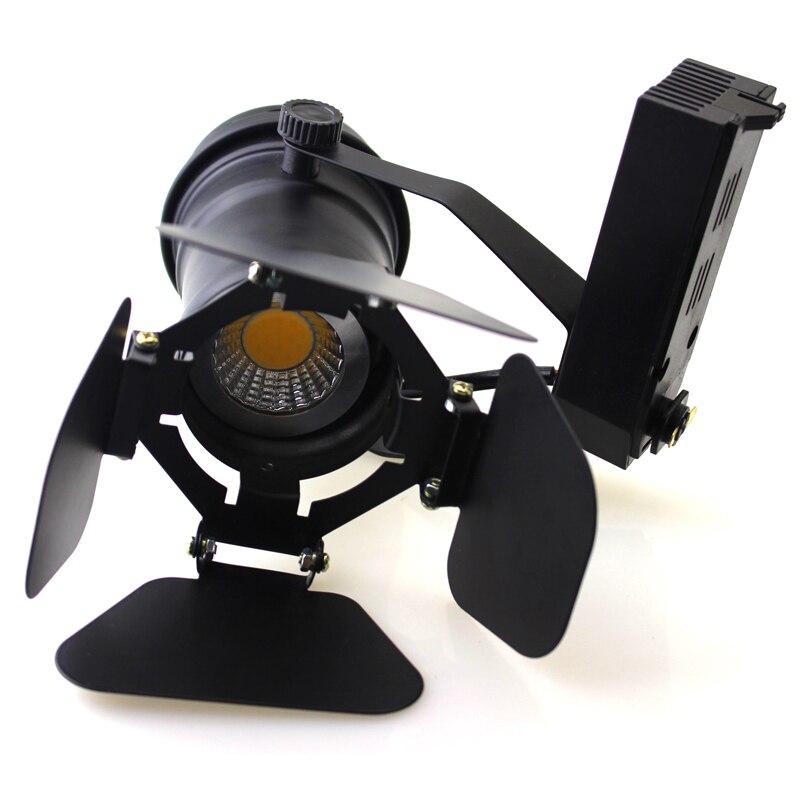 10PCS Úsporná COB 5W / 7W 2200LM vysoce výkonná LED kolejová lampa pro kabinet, pod pultem, stropní expoziční osvětlení