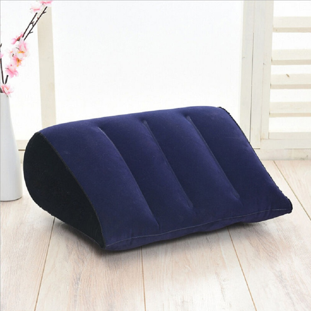 HTB1JIpiQgHqK1RjSZJnq6zNLpXaN New Arrival Durable 45 *16 * 36cm Inflatable Aid Wedge Durable Pillow Love Position Cushion Couple Comfortable Soft Furniture