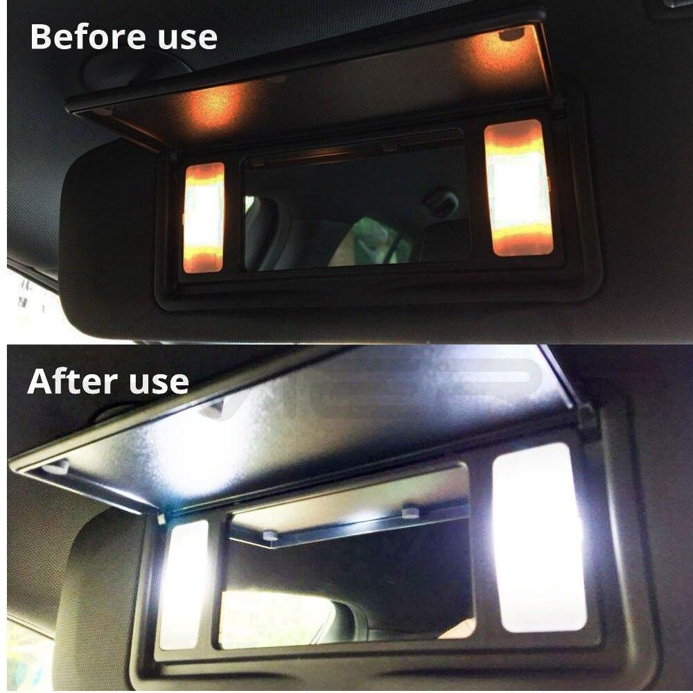 1X White C5W C10W 5050 3SMD 3Led 36mm 39mm 41mm DC 12V Car LED Festoon Dome Light Door light Reading Lamp Tail Bulb backup Led