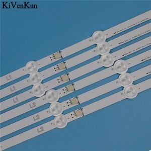 Image 3 - Nowa listwa oświetleniowa LED HD do LG 50LN570U 50LN570V 50LN575R 50LN575S 50LN575U 50LN575V  ZA ZE zestaw do baru taśmy telewizyjne LED