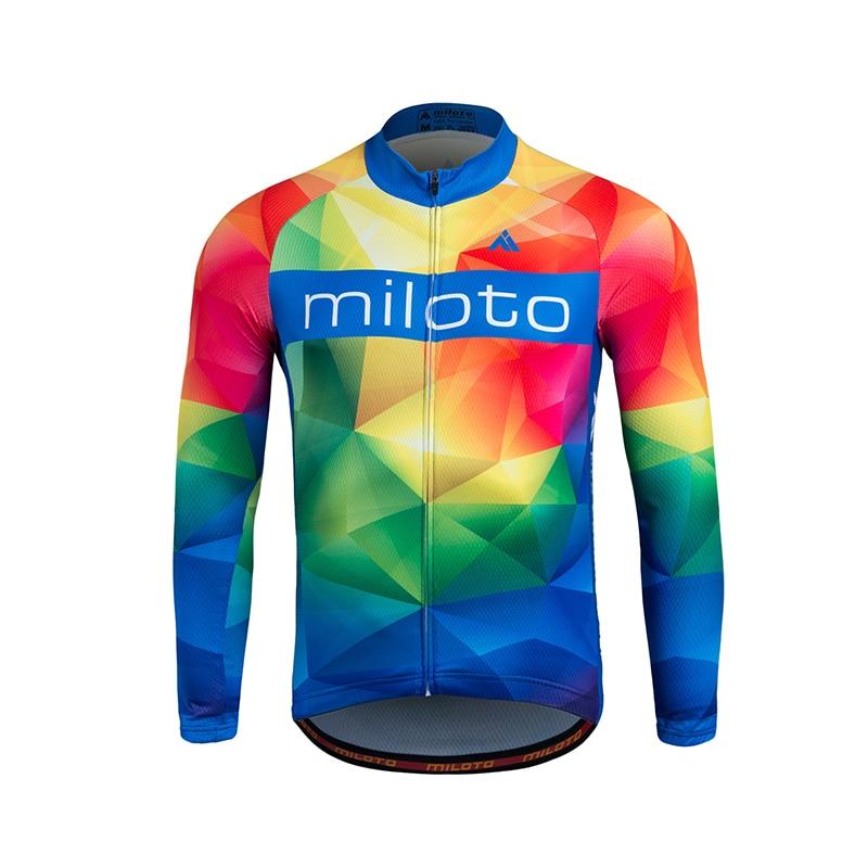 Hommes maillots de cyclisme moto Motocross course DH descente vtt vélo T Shirt cyclisme Sweat Shirt cyclisme Jakcet