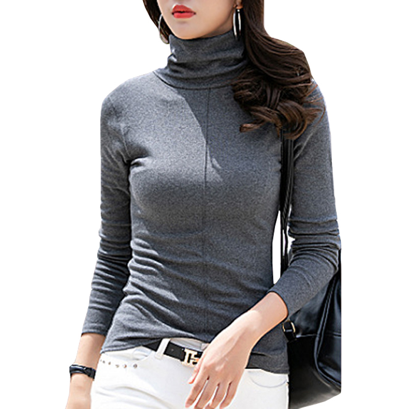 Bhflutter Invierno Slim Fit blanco Casual Mujer Negro azul Cielo Algodón  Oscuro Suéteres Suave Las Suéter ... 57dfdc37b812