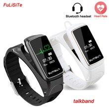 Smart Браслет фитнес Heart Rate Водонепроницаемый Bluetooth наушники Стиль smartband для IPhone Xiaomi смартфон Huawei