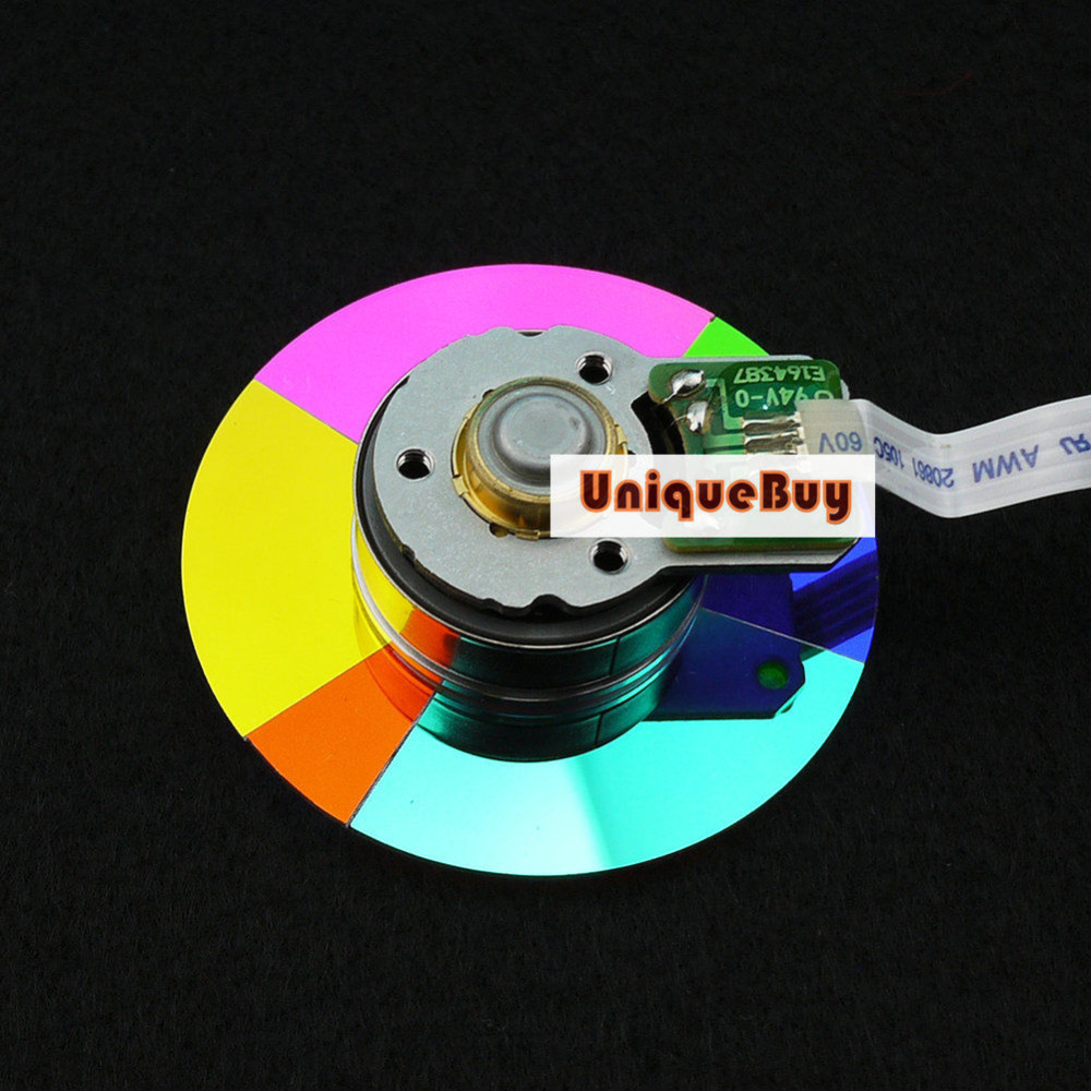 Brand New Projector Color Wheel Fit For Benq W100 Replacement Projector Color Wheel brand new color wheel module fit for benq ms504 projector
