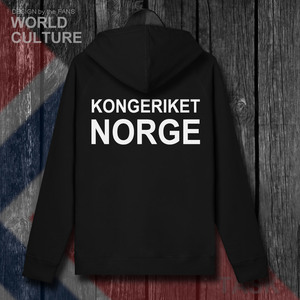 Image 3 - Norway Norge NOR Norwegian Nordmann NO mens fleeces hoodies winter jerseys coat men jackets and clothes nation country cardigan