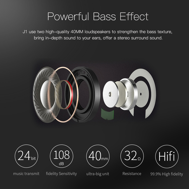 Bluetooth 3D stereo headphones wireless headset 3.5 mm AUX TF card headphone over the Ear with MIC