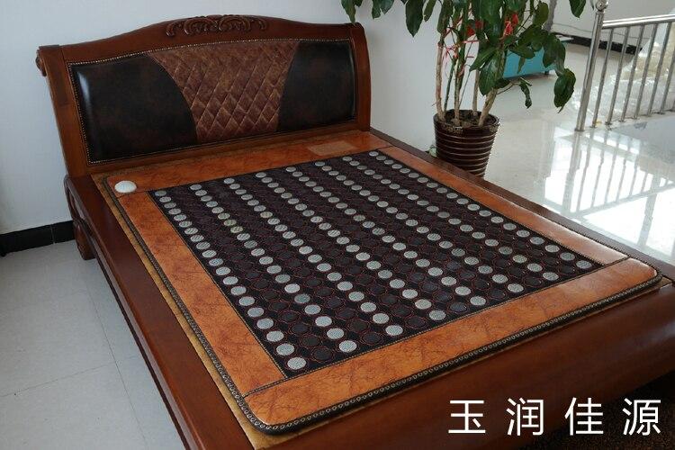 Free shipping for Jade mattress germanium mattress tourmaline far infrared far infrared mattress size 1.2*1.9M mix jade stone jade mattress germanium mattress tourmaline far infrared mattress size 1 2x1 9m free shipping