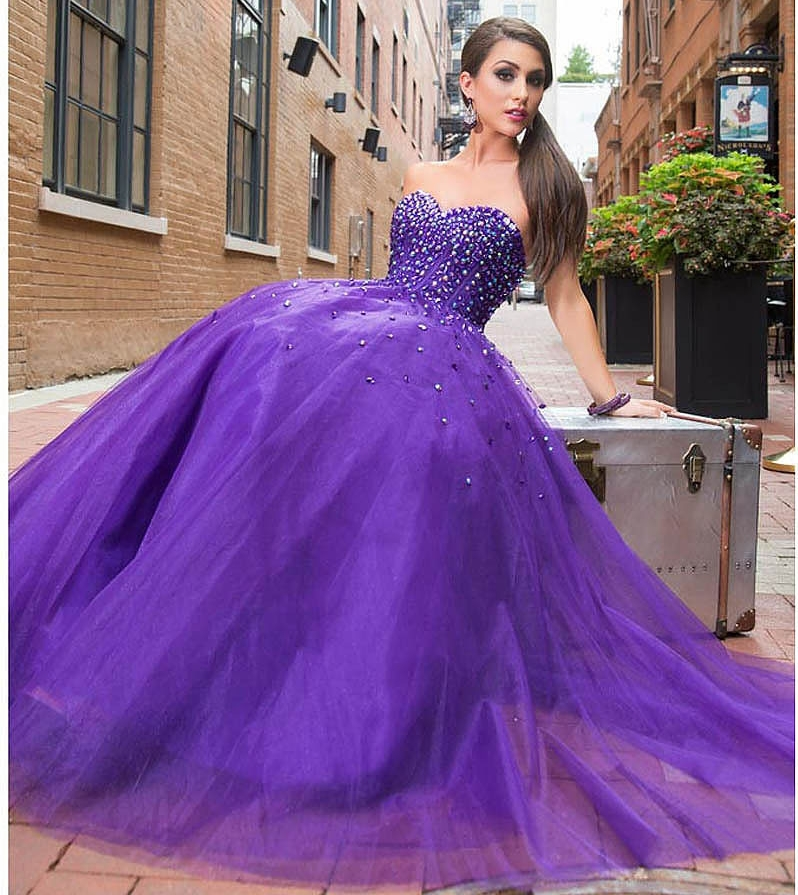 princess dresses for prom purple images galleries with a bite. Black Bedroom Furniture Sets. Home Design Ideas