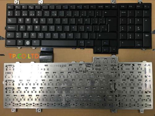 Brand New Spanish Keyboard  For DELL Studio 1735 1736 1737  Service SP  Version BLACK