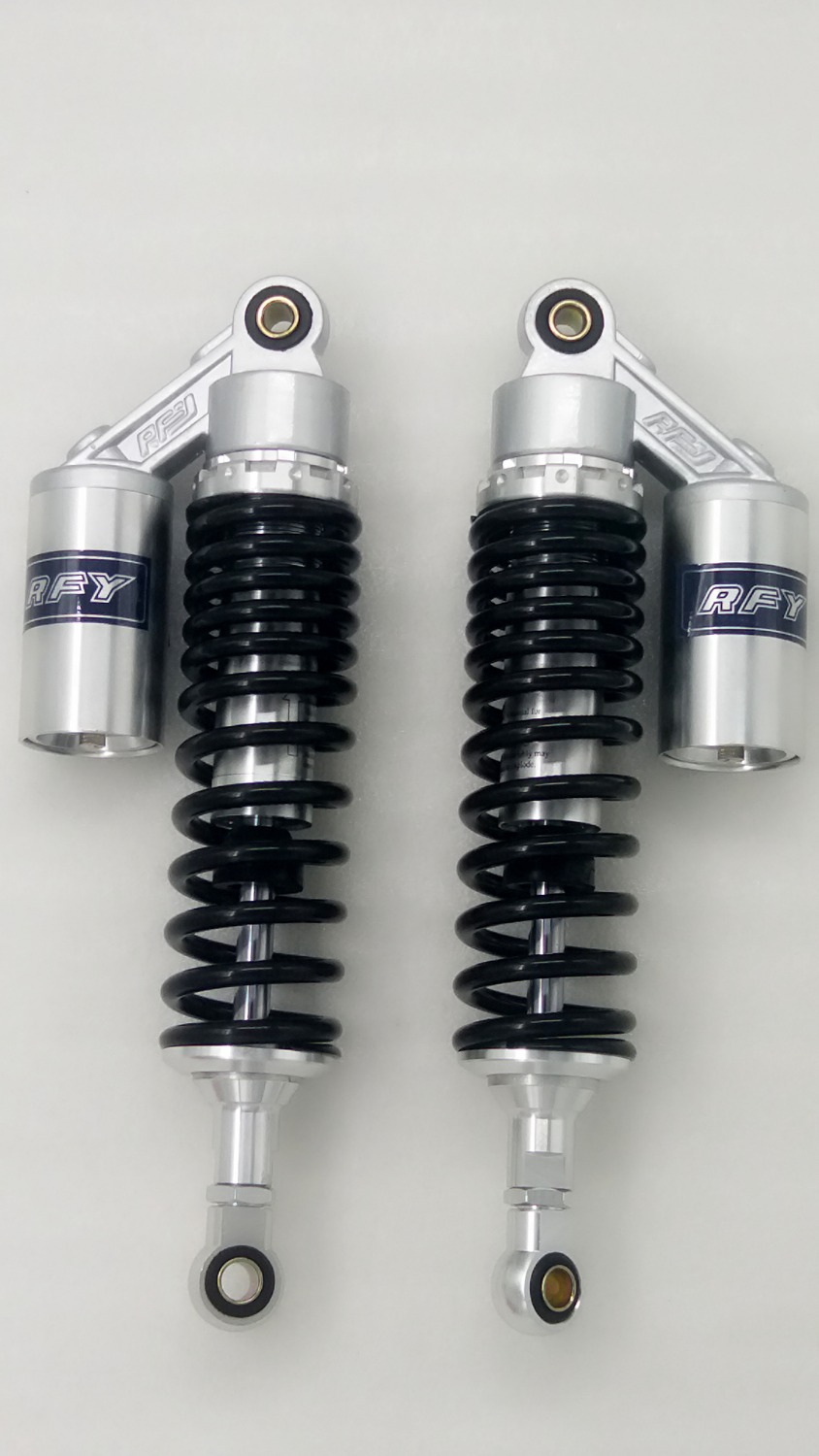 325mm 8mm SPRING REAR AIR/NITROGEN CELL SHOCK ABSORBERS FOR YAMAHA XJR1300 XJR1200 XS1100 XJ900 XJ750 SUZUKI GSX1400 nitrogen spring nitrogen nitrogen spring spring mould maintenance inflatable new custom misumi