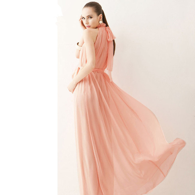 Maternity Chiffon Dresses for Pregnant Women 6