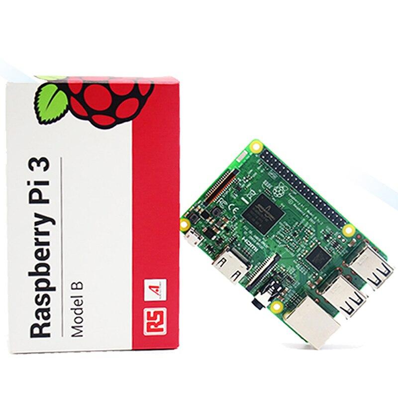 Élément 14/RS Framboise Pi 3 Modèle B +/Modèle B Carte Mère Avec WiFi & Bluetooth Raspberry Pi ordinateur de Bord