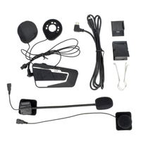 T9S 1000 Meters Real Time Communication Motorcycle Helmet Wireless Bluetooth Intercom Headset