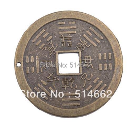 Eine Feng Shui Chinesische Familie Amulett Für Schutz Münzeni Ging
