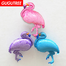 Decorate 105x51cm pink blue purple flamingo foil balloons wedding event christmas halloween festival birthday party HY-146