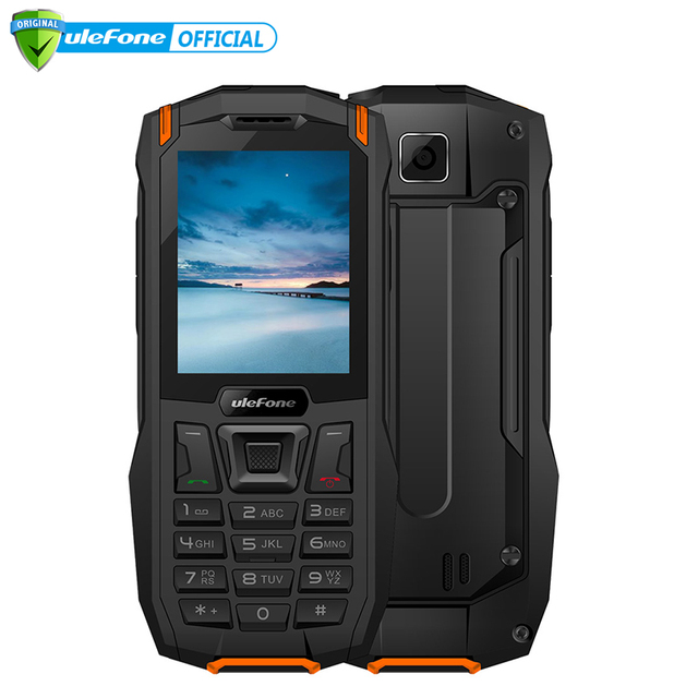 "Ulefone Armor Mini IP68 Waterproof Outdoor Adventures Phone 2.4"" MTK6261D Wireless FM Radio 2500mAh 0.3MP Dual SIM Cellphone"