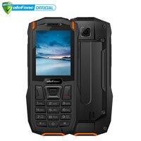 Ulefone Armor Mini IP68 Waterproof Outdoor Adventures Phone 2.4 MTK6261D Wireless FM Radio 2500mAh 0.3MP Dual SIM Cellphone