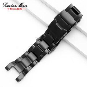 Neue hochwertige armband für g-shock GW-A1100 GW-A1000 edelstahl armband mit werkzeuge