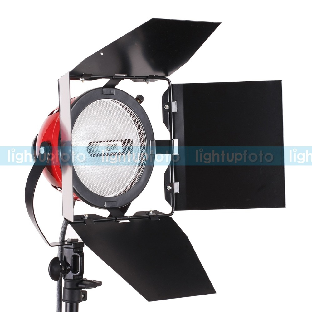 New arrive Photo Video Studio Continuous Light Red Head 800w continuous lighting photography equipment PAVL1B free shipping ashanks 800w studio video red head light with dimmer continuous lighting bulb free shipping