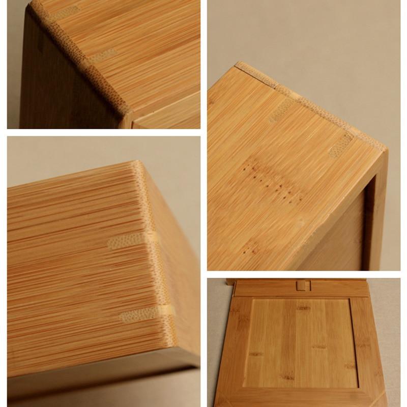 Premium Bamboo Pu-Erh Storage Gift Box Handmade 5