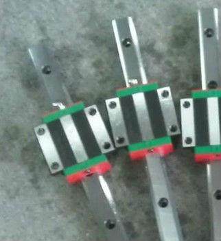 100% genuine HIWIN linear guide HGR25-400MM block for Taiwan hiwin 100