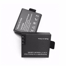Sport Camera Lithium Battery 1050mAh PG1050 For EKEN Series Rechargeable Li-ion Battery Pack 3.7V Black