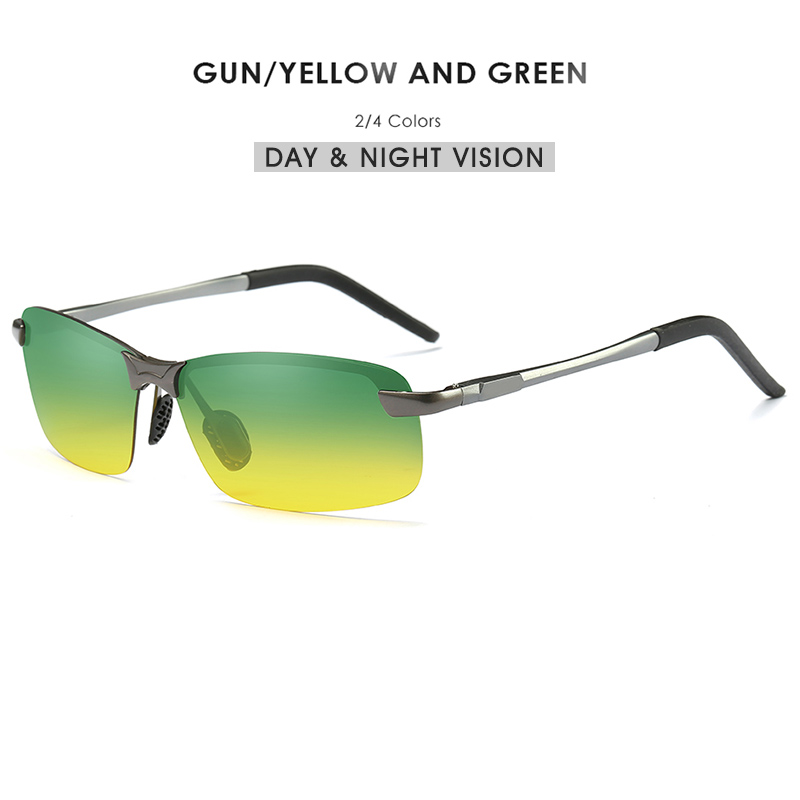 8681be8824 Dropwow Men s Yellow Polarized Driving Sunglasses at Night High ...