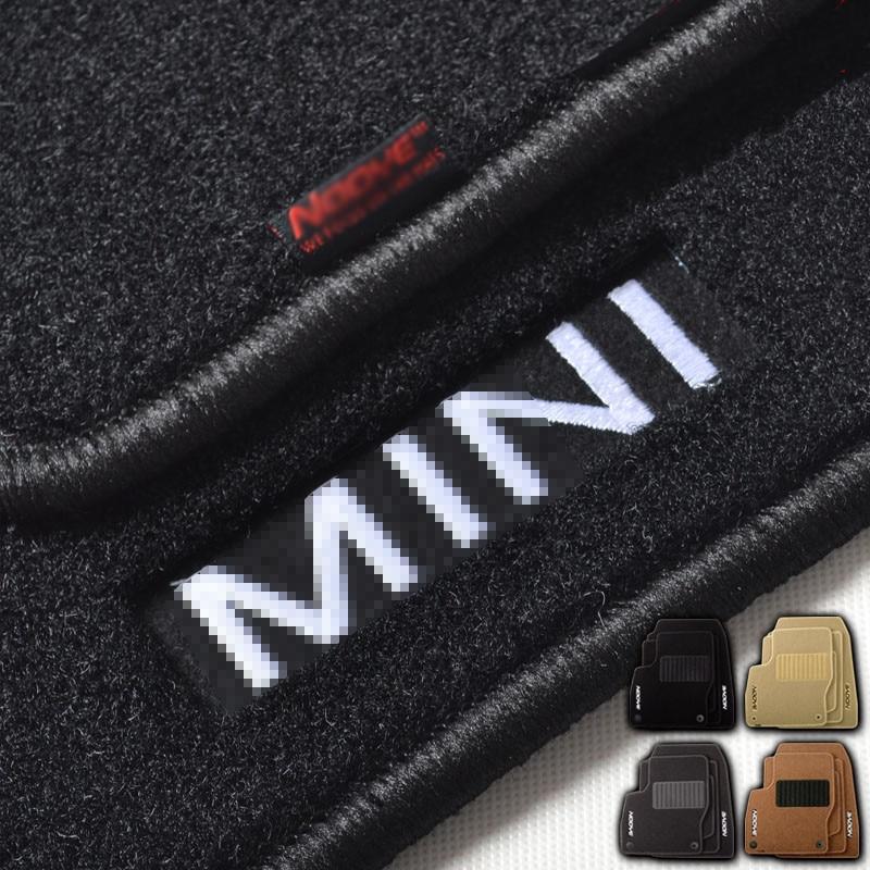 Savanini Premium Fabric Nylon Washable Car Floor Mats