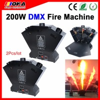 2 pcs/lot 220W DMX Fire Flame Projector Fire Extinguisher Refill Machine Stage Effect Fire Machine Flame Machine