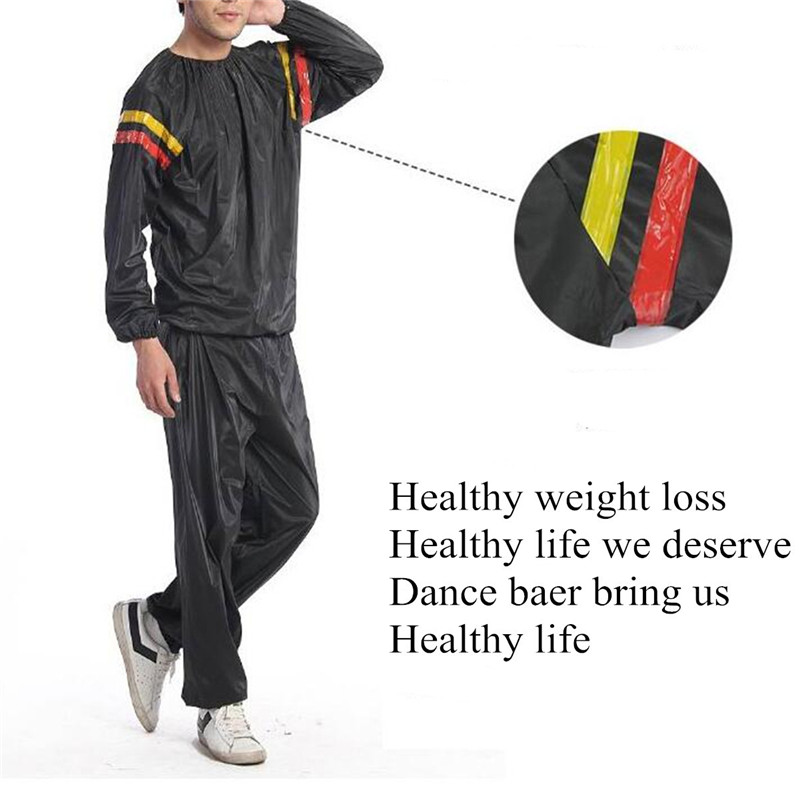 Best Deal Fitness Loss Weight Sweat Suit Sauna Workout Suit Exercise Gym Training Slimming Sauna Clothes L XL XXL 3XL