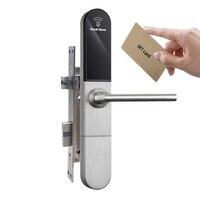 Porta de segurança fechaduras fechaduras do portão elétrico com leitor de cartão para apartamentos M1/escritório