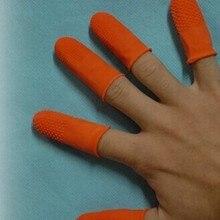 50 шт./пакет, инструменты для наращивания волос для пальцев перчатки резиновые кератиновые перчатки рабочий инструмент для защиты детская кроватка