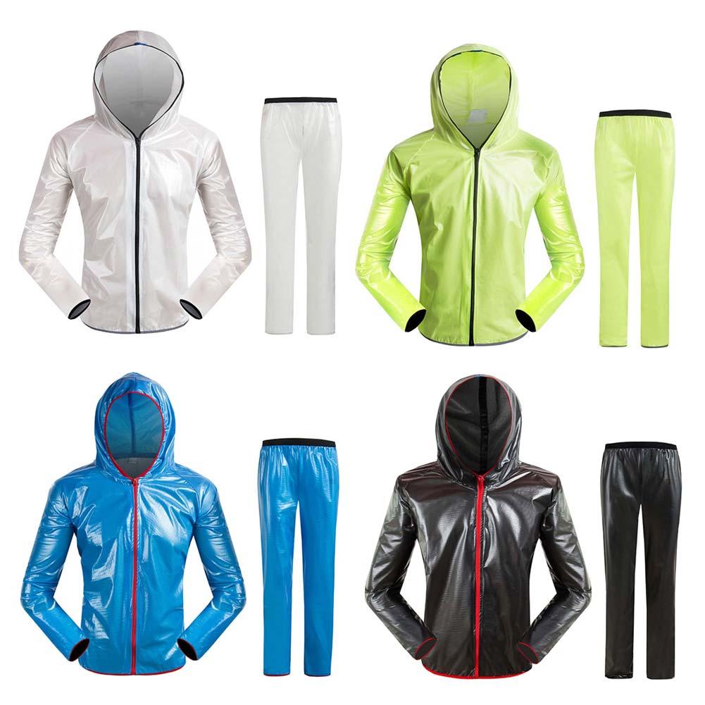 Women Men Cycling Raincoat Jacket Waterproof Bicycle Road M TPU Rain Coats Bike Clothing 88 B2Cshop