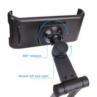 자동차 헤드 레스트 마운트 전화 태블릿 홀더 자동차 뒷좌석 시트 범용 360 회전 브래킷 F-Best