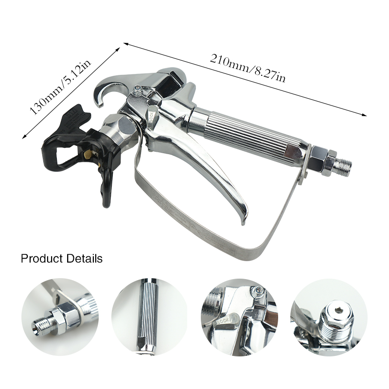 Brand New 3600PSI High Pressure Airless Paint Spray Gun With 517 Spray Tip Nozzle Guard Wagner Pump And Airless Spraying in Spray Guns from Tools