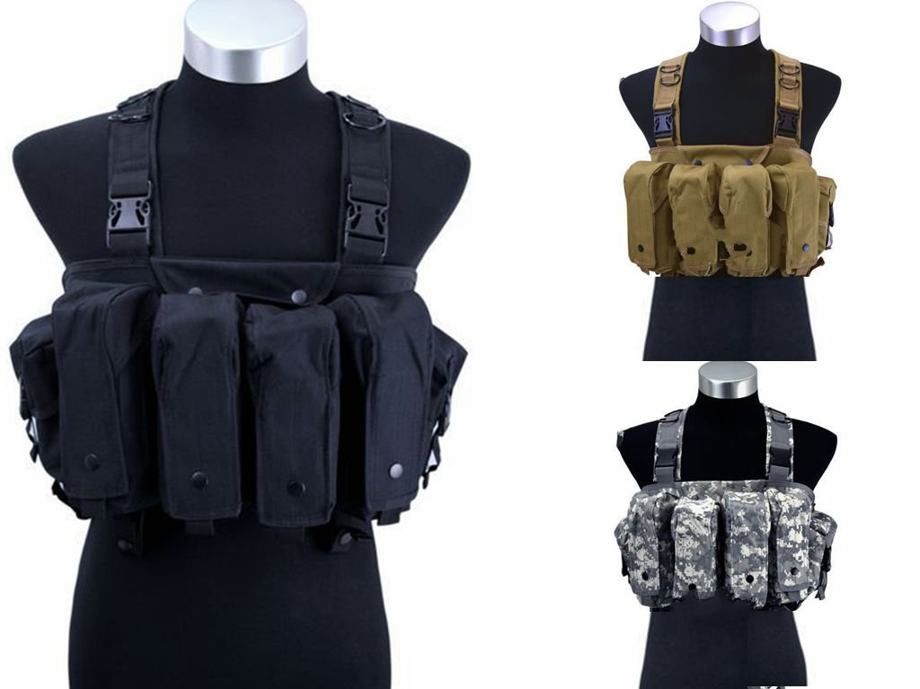 Outdoor military fans protective equipment CS field game vest / AK belly pocket six bags of expansion training camouflage vest mayoral кеды