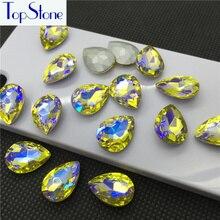 28e49b2900 Buy teardrop 8x13 glass rhinestone and get free shipping on ...