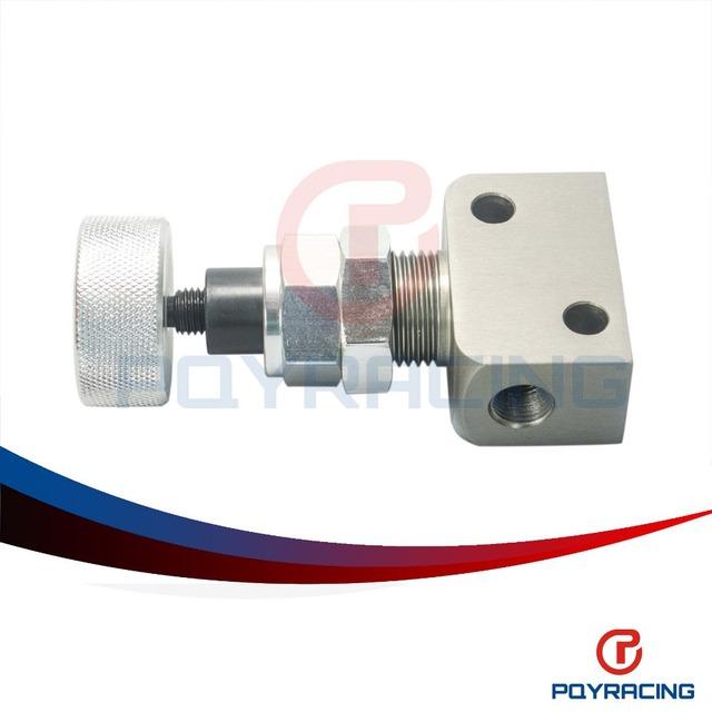 CORRIDA PQY-1/8NPT Válvula de Proporção De Freio Suporte Ajustável, Viés de freio Ajustador Botão Tipo F2 Brisca PQY3315