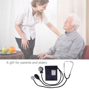 Image 5 - Professional Manual Sphygmomanometer Cuff Blood Pressure Monitor Stethoscope Doctor Household Measure Device With Bag