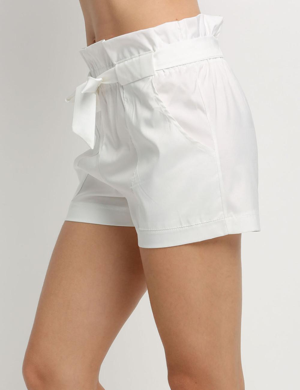 HTB1JIwkNFXXXXbuapXXq6xXFXXXv - High Waist Shorts Loose Shorts With Belt Woman PTC 59