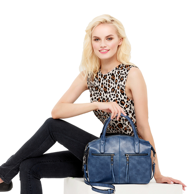 AMELIE GALANTI Women Bag Brand New Fashion with a Pillow Handbag High Quality PU Tote Bag Luxury Handbags Women Bags Designer Shoulder Bags