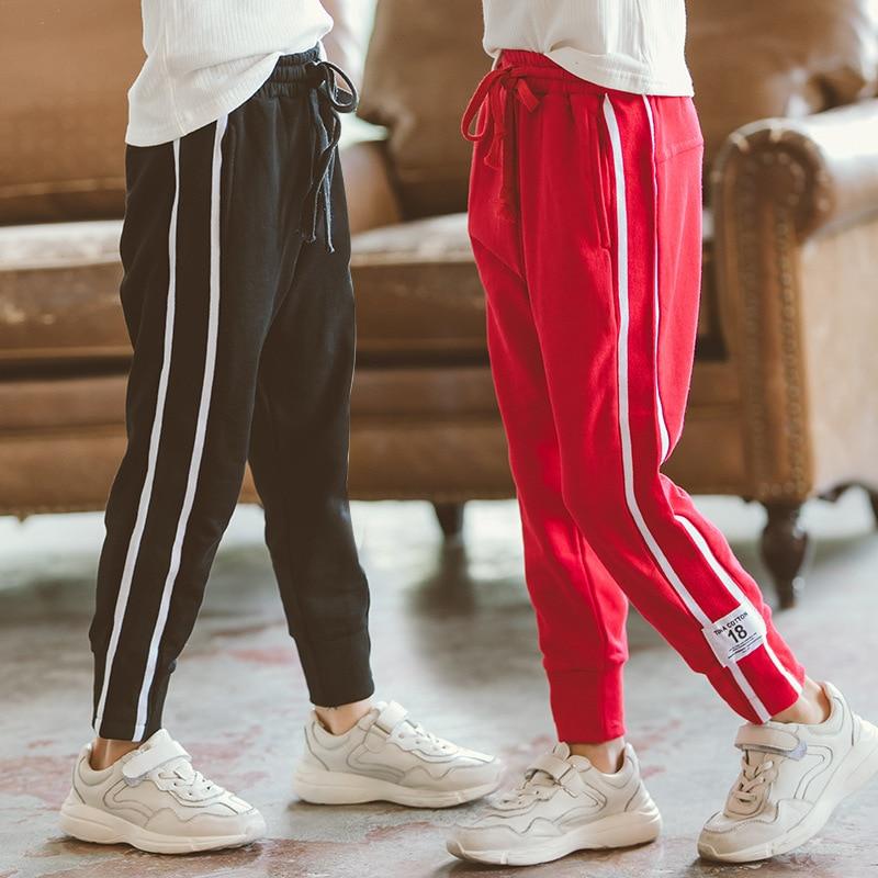 Girls Casual Pant Leggings Teenagers Baby Girl School Trousers 2018 New Fashion Sports Pant Harem Leggings Big Girl Cotton Pant штаны сноубордические женские oakley new karing pant purple shade