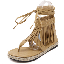 Gladiator Sandals Woman summer Sexy Cross-tied Lace up Women Boots Sandal Shoes