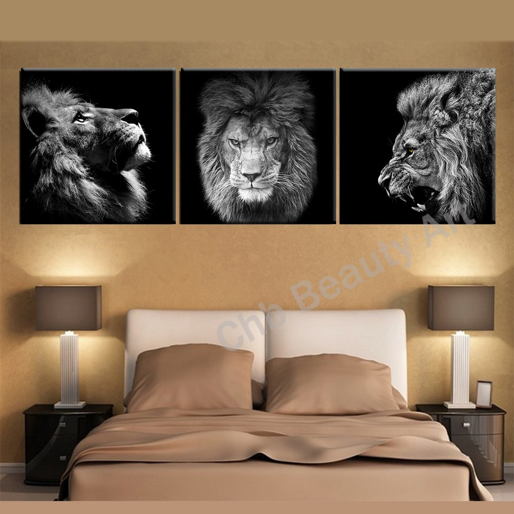 popular lion canvas artbuy cheap lion canvas art lots from china  -  panels lion king canvas art modern abstract painting wall pictures forliving room decoration pictures