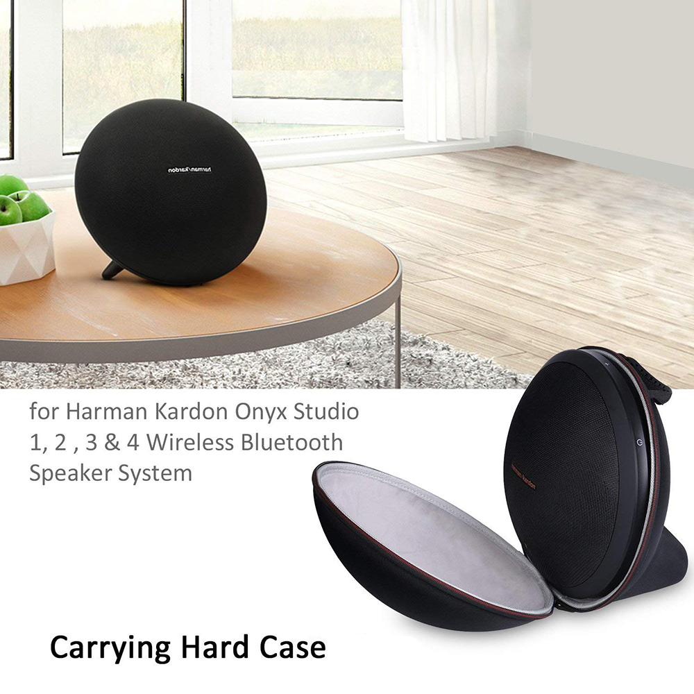 Image 4 - 2019 New EVA Hard Bag Cover Case for Harman Kardon Onyx Studio 1, 2, 3, 4 Wireless Bluetooth Speaker Extra Space for Plug&Cables-in Speaker Accessories from Consumer Electronics