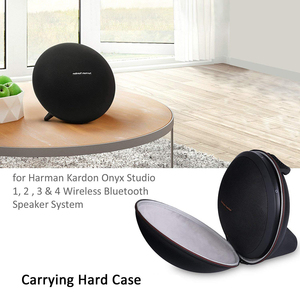 Image 4 - 2019 New EVA Hard Bag Cover Case for Harman Kardon Onyx Studio 1, 2, 3, 4 Wireless Bluetooth Speaker Extra Space for Plug&Cables